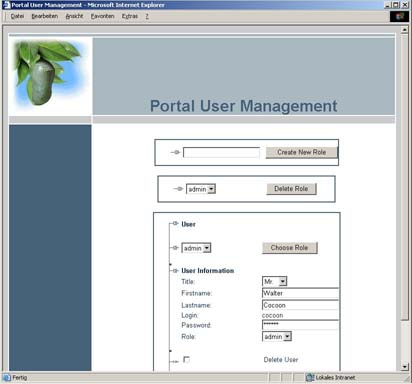 Tool for user  management